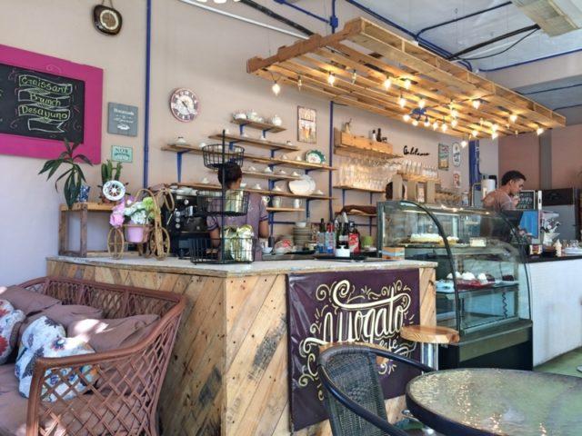 Affogato Cafe 店内の様子